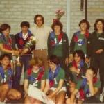 Dames 1 seizoen 1978-1979