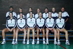Dames 1 seizoen 1999-2000