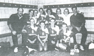 Dames1 seizoen 1998-1999