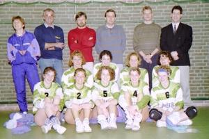 Dames1seizoen1991-1992