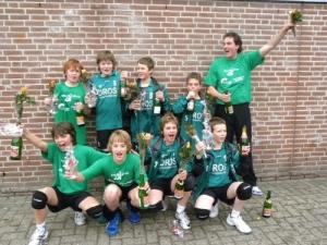 Jongens CMV Nederlands kampioen 2009-2010