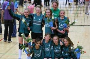 Meisjes CMV Nederlands kampioen 2009-2010