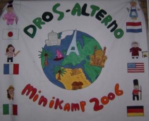 Minikamp vlag 2006