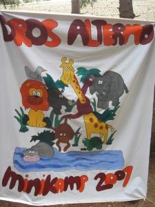 Minikamp vlag 2007