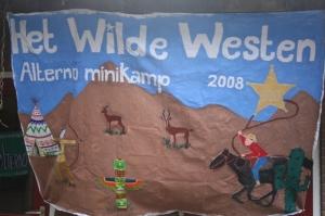 Minikamp vlag 2008