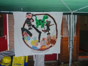 Minikamp vlag 2010