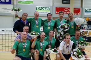 zitvolleybal kampioen van Nederland 2012