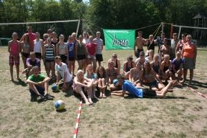 Deelnemers Jeugdkamp 2010