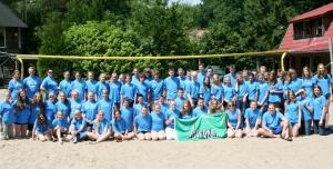 Deelnemers Jeugdkamp 2012