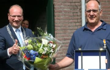 Jan Voortman koninklijk onderscheiden